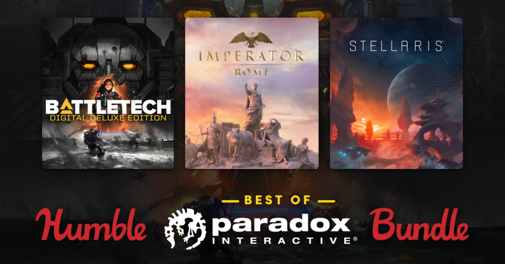 Humble Best of Paradox Interactive Bundle 2020
