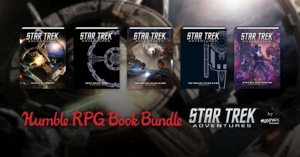 Star Trek RPG BOOK Bundle by Humble Bundle