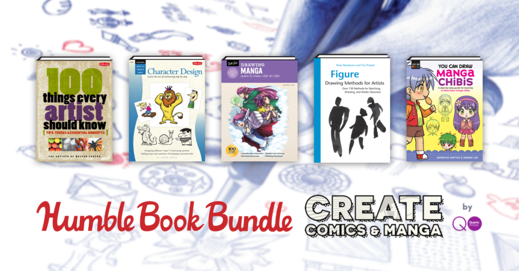 Humble Book Bundle: Create Comics & Manga