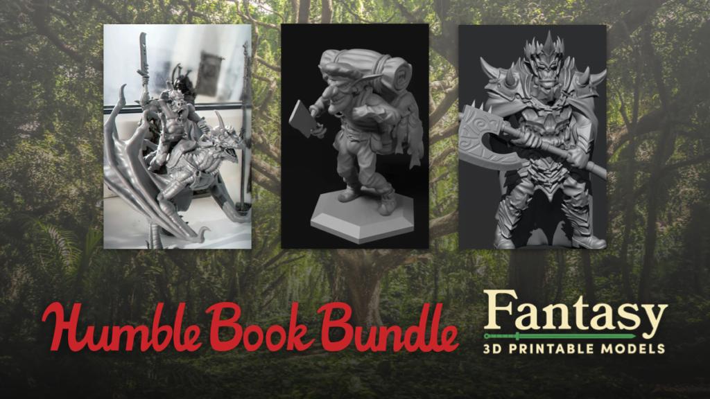 Humble Fantasy 3D Printable Models Bundle