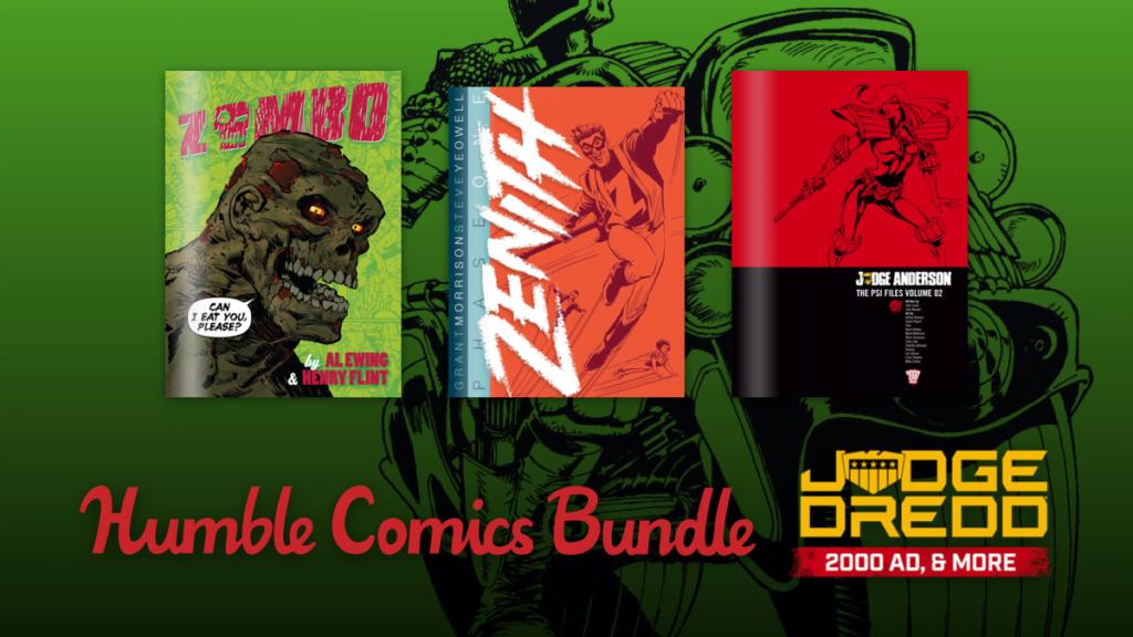 Humble Comics Bundle: Judge Dredd