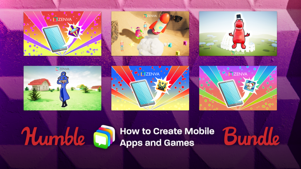 Humble How to Create Mobile Apps and Games Bundle
