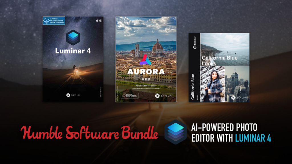 AI-Powered Photo Editor with Luminar 4