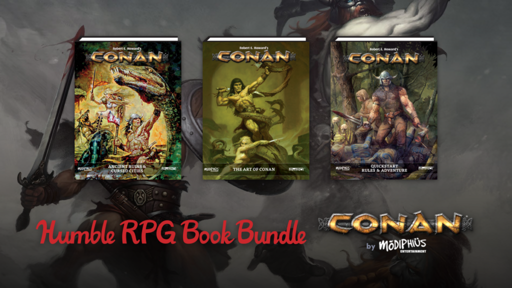 Humble RPG Book Bundle: Conan by Modiphius