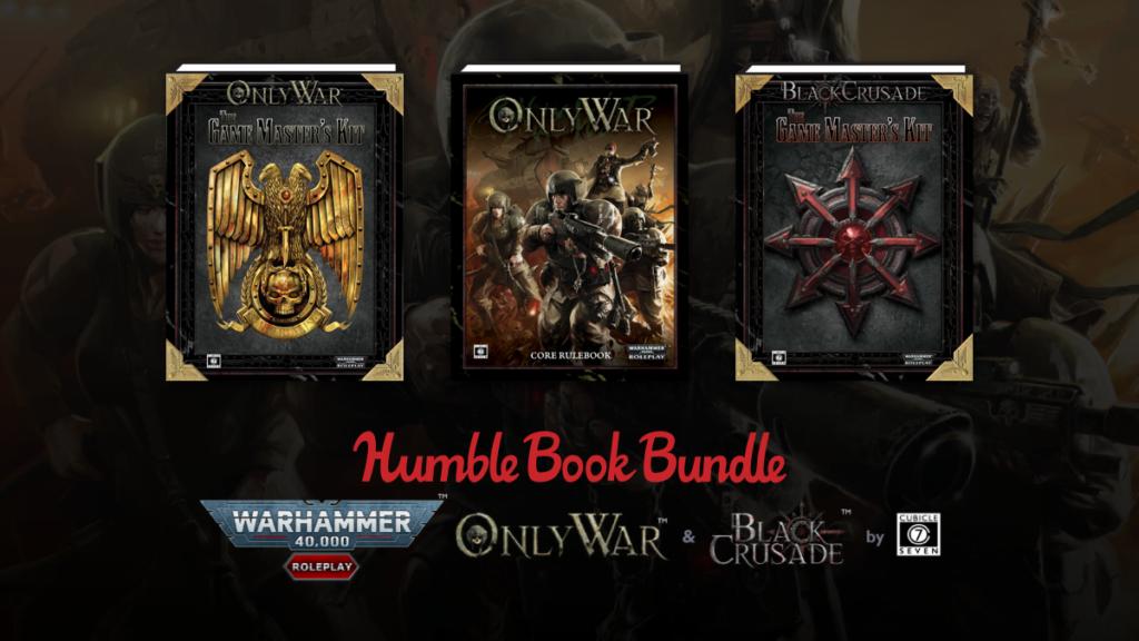 Warhammer 40K: Black Crusade & Only War by Cubicle 7
