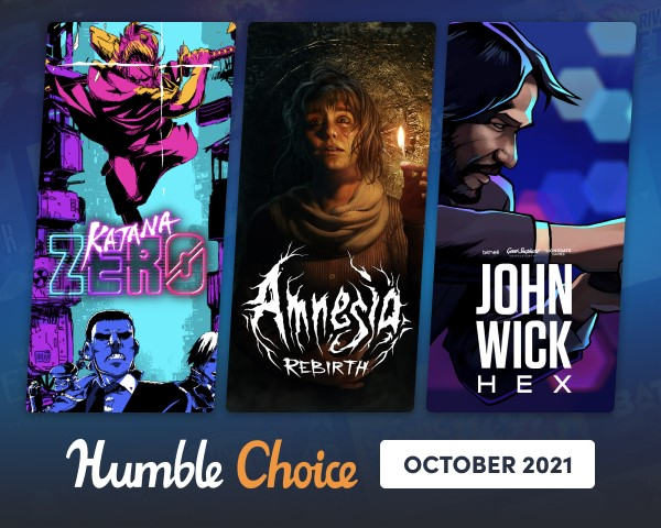 Humble Choice JSeptember 2021