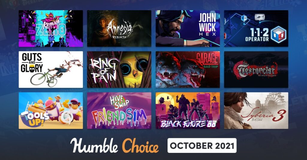 Humble Choice October 2021