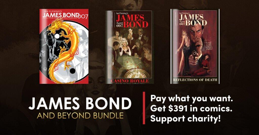 James Bond and Beyond by Dynamite Bundle